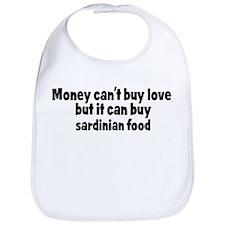 sardinian food (money) Bib