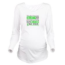 Lyme Disease HowStro Long Sleeve Maternity T-Shirt