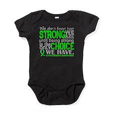 Lyme Disease HowStrongWeAre1 Baby Bodysuit