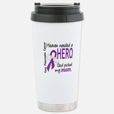 Pancreatic Cancer Heave Stainless Steel Travel Mug