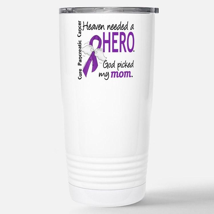 Pancreatic Cancer Heave Travel Mug