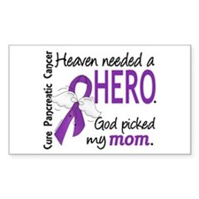 Pancreatic Cancer Heaven Neede Decal