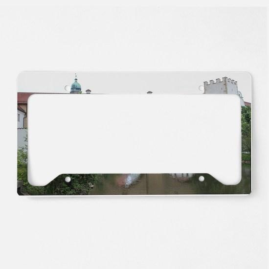 Amberger Stadtbrille License Plate Holder