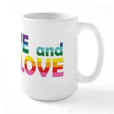 Live Let Love Il Mugs