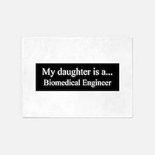 Daughter - Biomedical Engineer 5'x7'Area Rug
