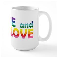 Live Let Love Ga Mugs