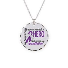 Pancreatic Cancer Heaven Nee Necklace