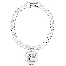 Pancreatic Cancer Heaven Bracelet