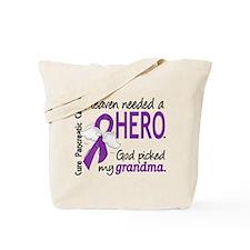 Pancreatic Cancer Heaven Needed Hero 1.1 Tote Bag