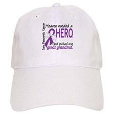 Pancreatic Cancer Heaven Needed Hero 1.1 Baseball Cap