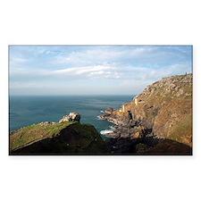 Cornish tin mining seascape Decal