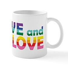 Live Let Love Ar Mugs