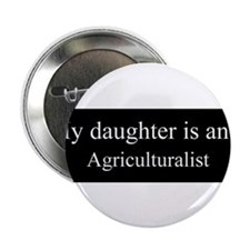 """Daughter - Agriculturalist 2.25"""" Button (100 pack)"""