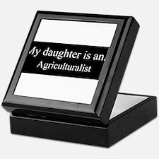 Daughter - Agriculturalist Keepsake Box