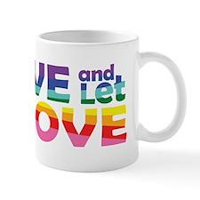 Live Let Love Ak Mugs