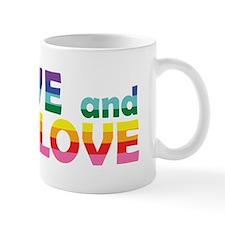 Live Let Love Al Mugs