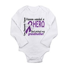 Pancreatic Cancer Heav Long Sleeve Infant Bodysuit