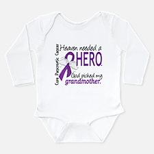 Pancreatic Cancer Heav Onesie Romper Suit