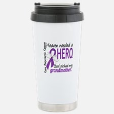 Pancreatic Cancer Heave Stainless Steel Travel Mug