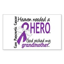 Pancreatic Cancer Heaven Neede Decal