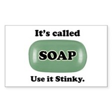 It's Called Soap, Stinky - Decal