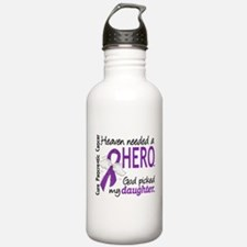 Pancreatic Cancer Heav Water Bottle