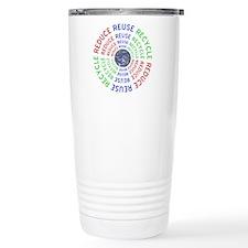 Reduce Reuse Recycle wi Travel Coffee Mug