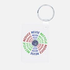 Reduce Reuse Recycle with Keychains