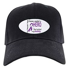 Pancreatic Cancer Heaven Needed Hero 1.1 Baseball Hat