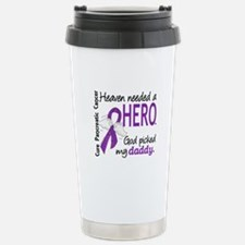 Pancreatic Cancer Heave Travel Mug