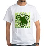 Environmental reCYCLE White T-Shirt