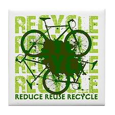 Environmental reCYCLE Tile Coaster