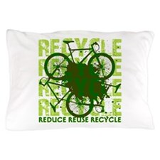 Environmental reCYCLE Pillow Case