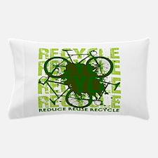 Environmental reCYCLE Pillow Case