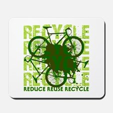 Environmental reCYCLE Mousepad
