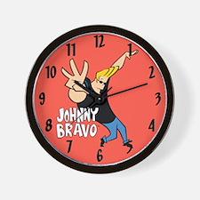 Johnny Bravo Wall Clock