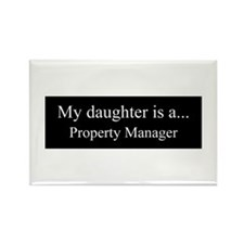 Daughter - Property Manager Magnets