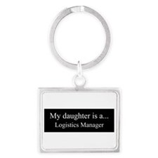 Daughter - Logistics Manager Keychains