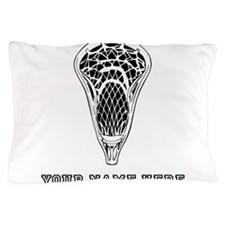 Custom Lacrosse Stick Head Pillow Case