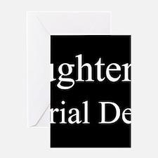 Daughter - Industrial Designer Greeting Cards