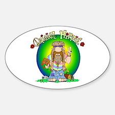 The Original Hippie Decal