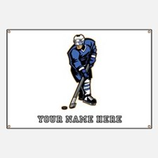 Custom Hockey Player Banner