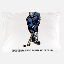 Custom Hockey Player Pillow Case