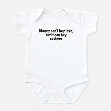 cashews (money) Infant Bodysuit