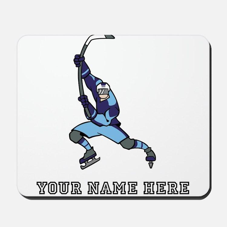 Custom Hockey Slapshot Mousepad