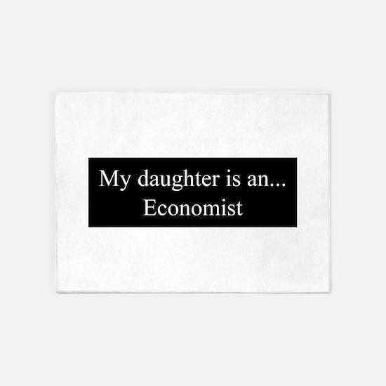 Daughter - Economist 5'x7'Area Rug