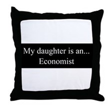 Daughter - Economist Throw Pillow