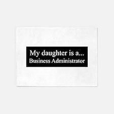 Daughter - Business Adminstrator 5'x7'Area Rug