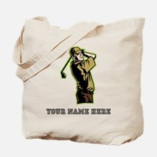 Custom Golfer Tote Bag