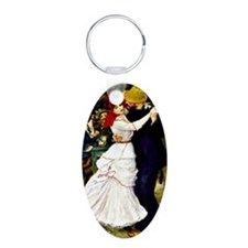 Renoir - Dance at Bougival Keychains